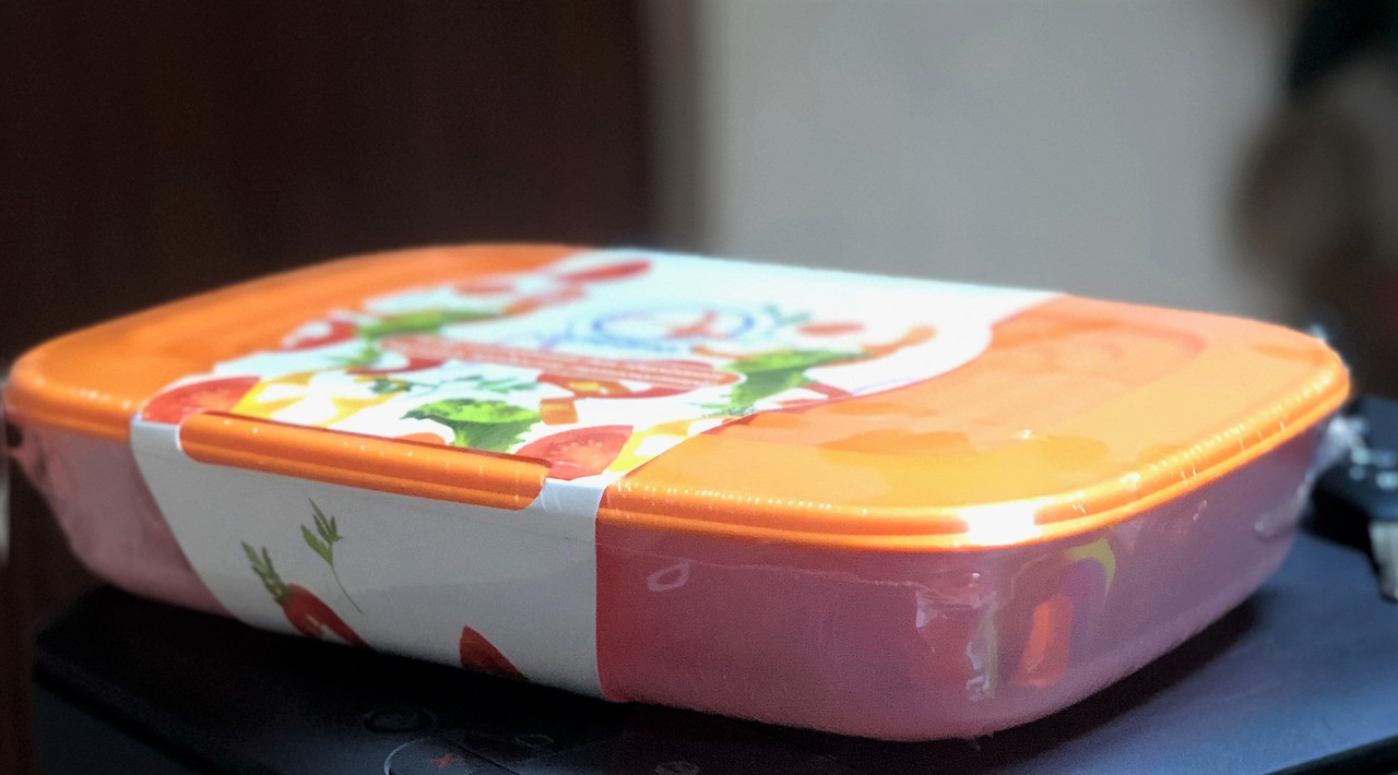 Набір харчових контейнерів (судок) , 3в1 , прямокутний, Алеана