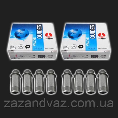Направляющие втулки клапанов ВАЗ 2108-21099 2110 Калина Приора 8 клапанные 8 шт AMP Польша