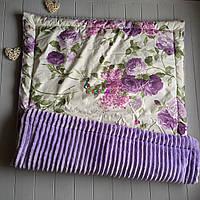 Плюшевий плед Minky з бавовняної підкладкою, фіолетовий