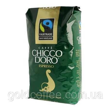 Зерновий кави Chicco D'oro Espresso Max Havelaar 1 кг