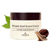 Крем для лица улиточный The Skin House Wrinkle Snail System 50 мл