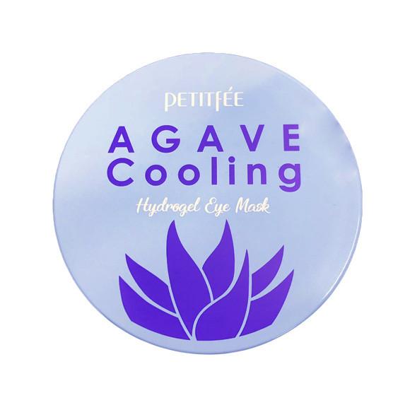 Гидрогелевые охлаждающие патчи для глаз с экстрактом агавы Petitfee Agave Cooling Hydrogel Eye Mask - 60 шт