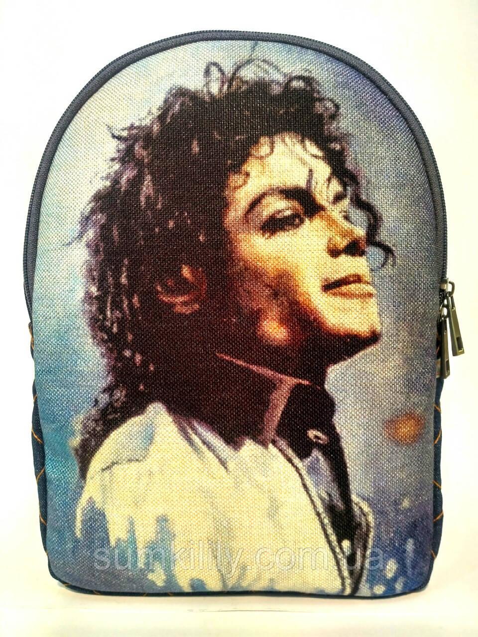 Джинсовий Рюкзак Майкл Джексон 11