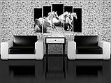 Модульная картина Арабские скакуны, фото 2