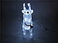 Новогодняя акриловая статуя олень RENIFER, Светящиеся новогодние олени 24 led, фото 3