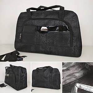 Женская текстильная дорожная сумка 53*35*20 см