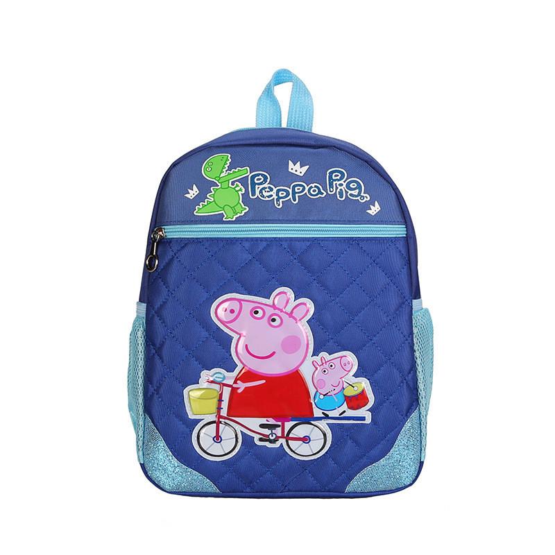 d5ab3d46835a Рюкзак для мальчика школьный синего цвета с рисунком Peppa Pig - ModaShop в  Киеве
