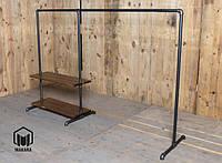 Вешалка №7 loft для одежды мебель лофт стойка торговое оборудовани