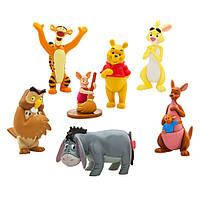 Игровой набор Винни Пух (Winnie the Pooh Figure Playset),6 фигурок, disney