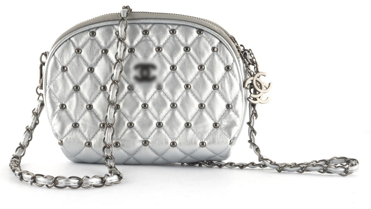 Стильная стеганая небольшая женская сумочка art. 0060-2