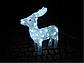 Новогодняя акриловая статуя оленень средний RENIFER, Светящиеся новогодние олени 60 LED, фото 3