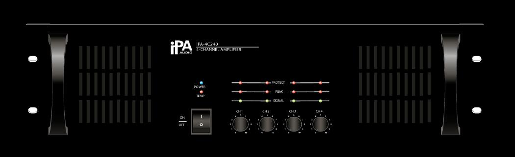 Четырехканальный усилитель мощности IPA AUDIO IPA-4C240