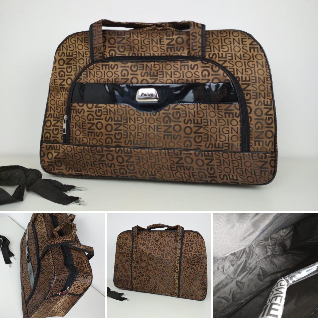 Большая дорожная женская сумка 53*35*20 см
