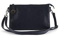 Небольшая аккуратная прочная женская сумочка почтальонка с очень качественного заменителя кожи art. 910, фото 1