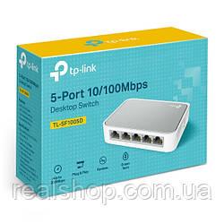 Коммутатор TP-LINK TL-SF1005D 5-портовый 10/100 Мбит/с