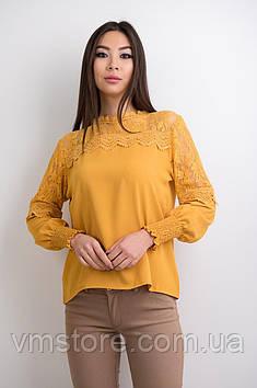 Блузка з гіпюром