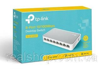 Коммутатор TP-LINK TL-SF1008D  8-портовый 10/100 Мбит/с