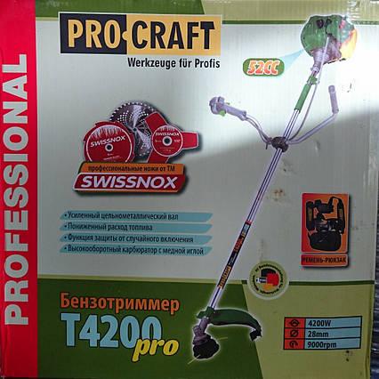 Мотокоса Procraft T-4200, фото 2