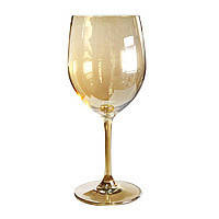 """Набор бокалов 6 шт """"Живая вода"""" вино, золото, 550 мл, 36509-5"""