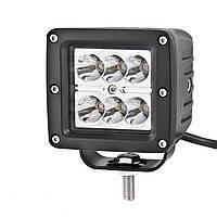 Автофара LED (6 LED) 5D-18W-SPOT прямоугольная автофара 18W на 6 ламп
