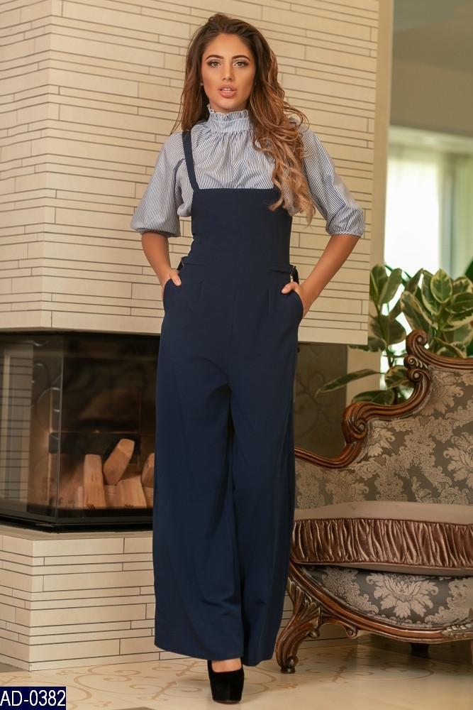 Комбинезон женский клеш, брюки кюлоты. Размер 42,44,46. Отличное качество