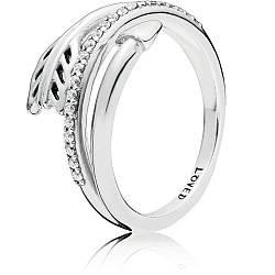Серебряное кольцо «Сияющая стрела»