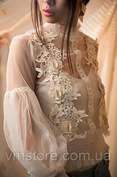 Блузка сетчатая