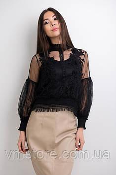 Блузка сітчаста