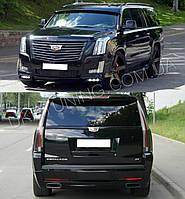 Тюнинг обвес спойлер бампер губа капот Cadillac Escalade 2007-2017