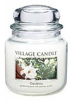 Свеча ароматическая Гардения Village Candle 389 г