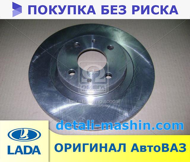 Диск тормозной передний R14 ВАЗ 2112 (пр-во АвтоВАЗ) 21120-350107002