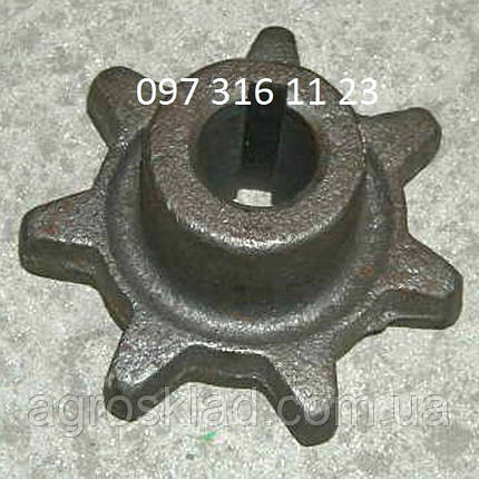 Звездочка комбайна СК-5М Нива (z=7,d=25), фото 2