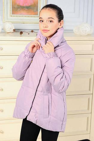 Детская демисезонная куртка для девочки Вероника, размеры 134-164, фото 2