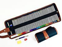 Пенал-органайзер на 48 карандашей из холста полиэстера (СANVAS)