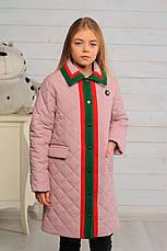 Детская демисезонная куртка для девочки Лори, размеры 128-146, фото 3