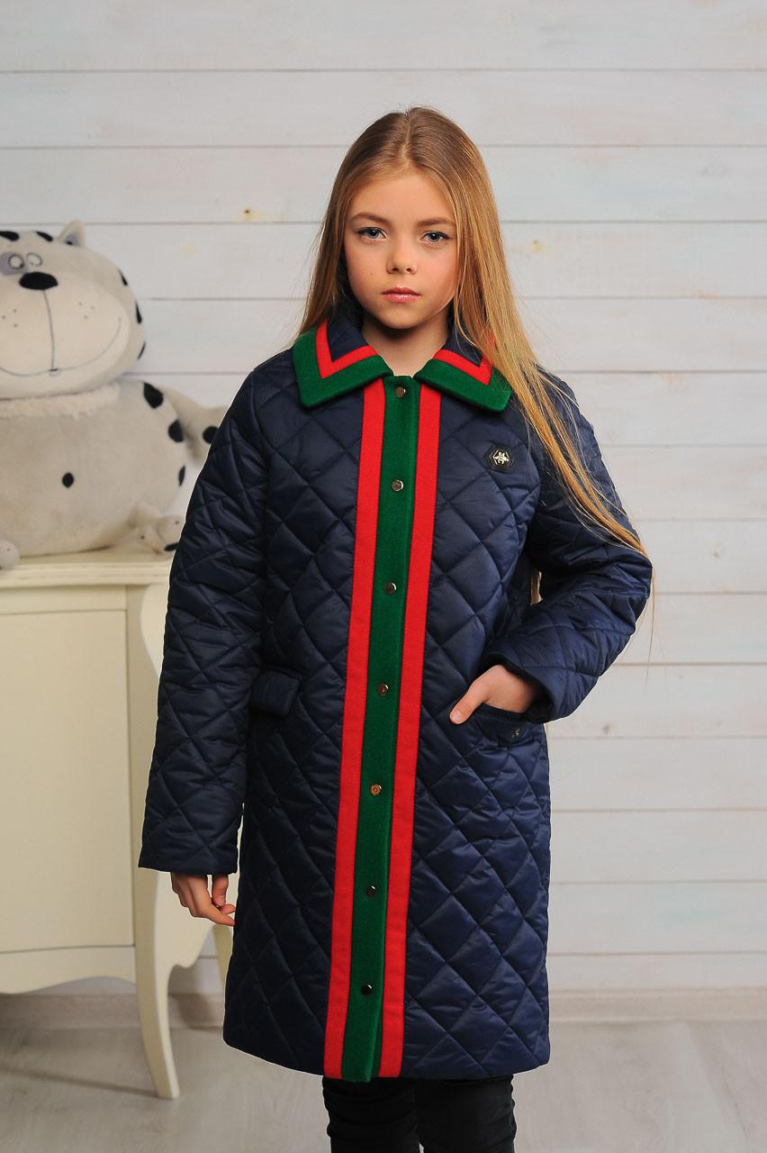 Детская демисезонная куртка для девочки Лори, размеры 128-146