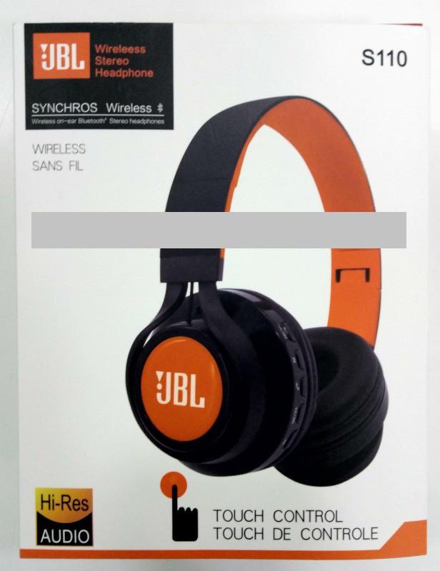 Наушники беспроводные JBL S110 Synchros Wireless - Bluetooth наушники