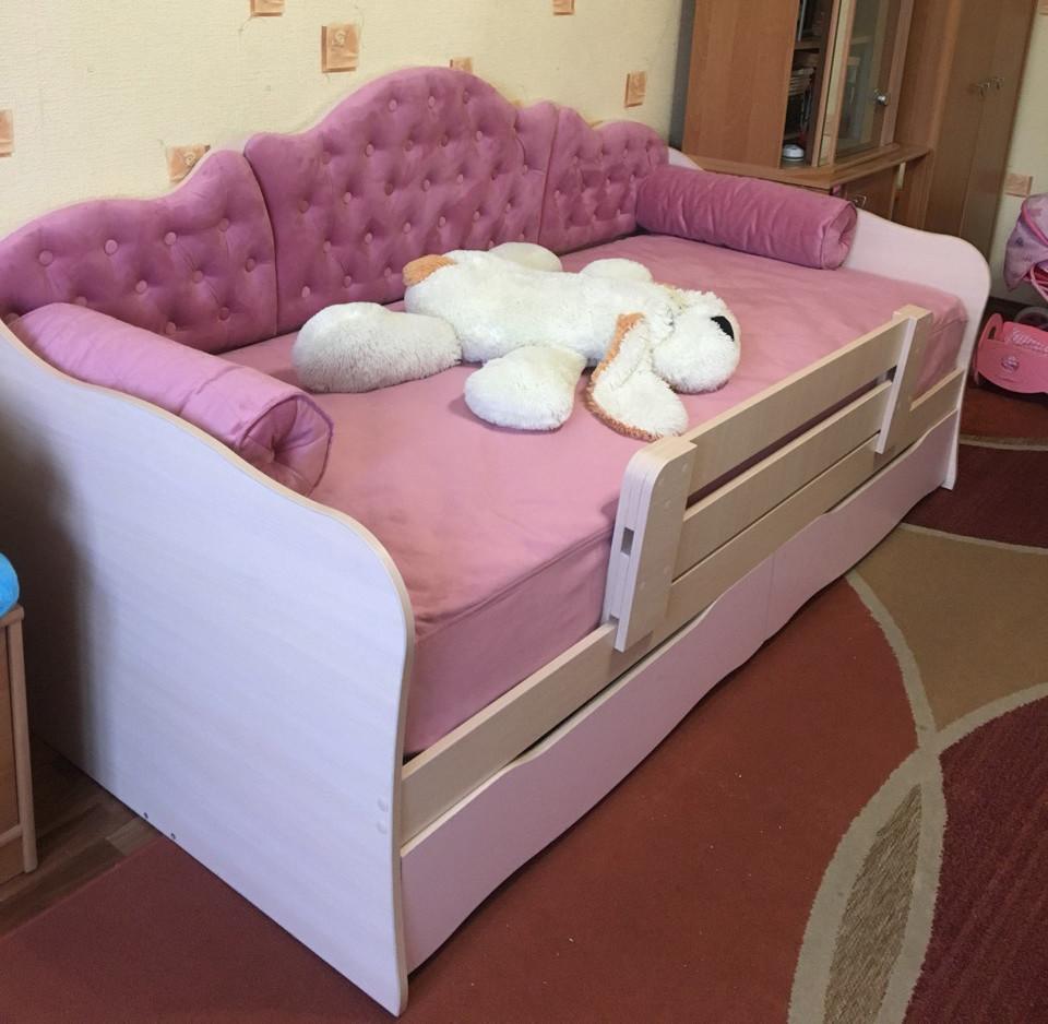 """Детская кровать для девочки """"Л-6"""""""