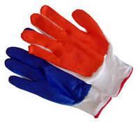 Перчатки стрейчевые с  покрытием / Рукавиці з покриттям