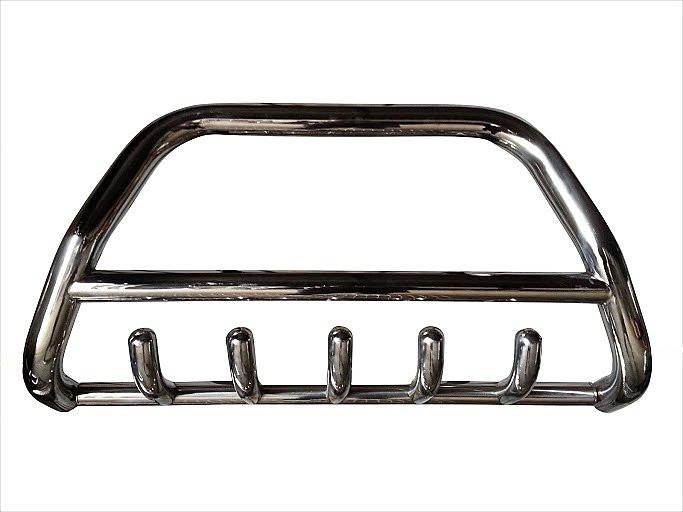Защита переднего бампера (кенгурятник) Renault Master 1998-2009
