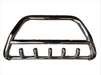 Защита переднего бампера (кенгурятник) Тойота Prado 120, фото 1
