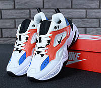 Женские кроссовки в стиле Nike Tekno M2K White (Реплика ААА+), фото 1