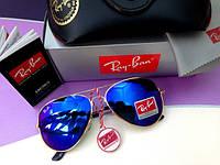 """Солнцезащитные очки """"Ray Ban"""" со стеклянными цветными линзами, фото 1"""