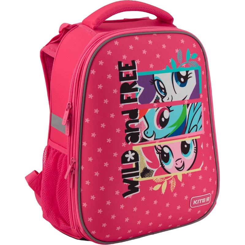 cd026bd9bd1d Рюкзак школьный каркасный Kite Education Littly Pony 38x29x16 см 20 л  Розовый