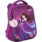 Рюкзак школьный каркасный Kite Education Princess 20 л Фиолетовый (K19-531M-1), фото 2