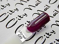 Гель-лак Хамелеон 689 сливовый ( шоколадный, бордовый )
