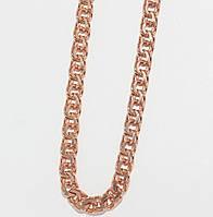 Серебряная позолоченная цепочка 10311-Залм