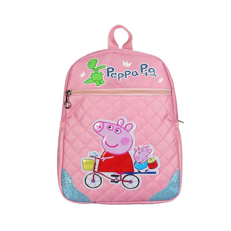 bc1f7b6d5aea Рюкзак для девочки школьный розовый с рисунком Peppa Pig - ModaShop в Киеве