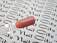 Гель-лак CityNail 722 светло розовый (светло кофейный, бежевый, персиковый)