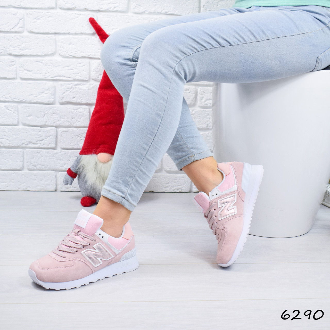 107826bab Кроссовки женские в стиле New Balance pink 6290, спортивная обувь, цена 1  230 грн., купить в Киеве — Prom.ua (ID#878339025)